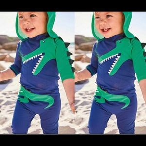 NWT adorable boys one piece bathing suit